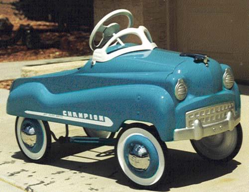 Champion Pedal Car Parts